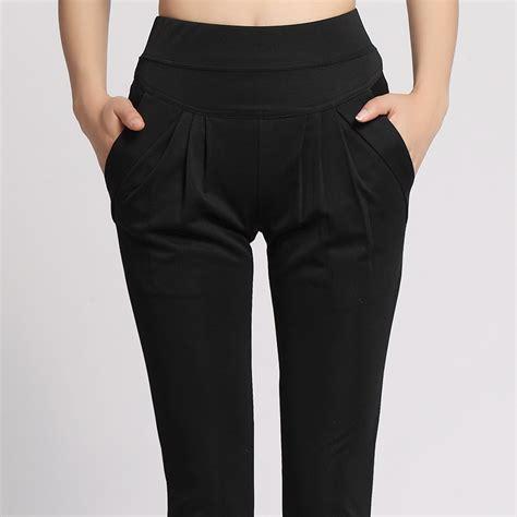 green plus size khaki pants for women women plus size harem pant lady full length leggings sexy