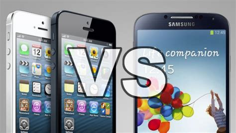 iphone or samsung samsung galaxy s4 vs iphone 5