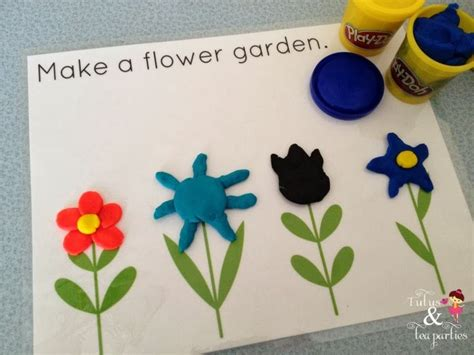 spring printable playdough mats 116 best images about plants on pinterest plants fine