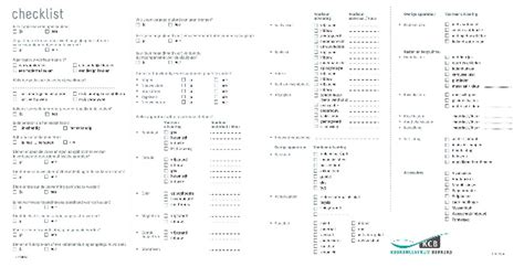 checklist keuken keukencentrum berkers gratis keuken kopen checklist
