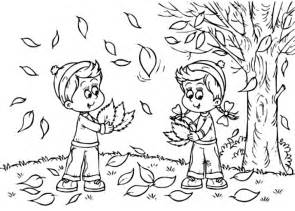 fall coloring pages kids print coloring kids