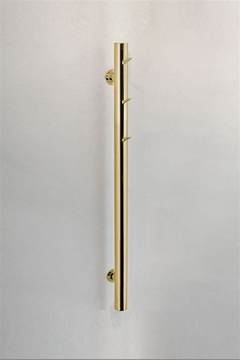 contemporary gold towel radiator gold wall mounted towel