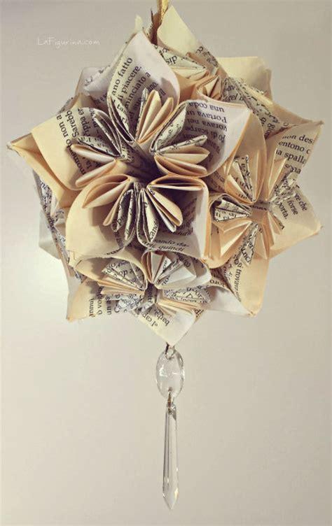fiori con origami come fare una decorazione con fiori origami tutorial