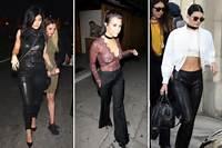 This Week In Kardashian Fashion Kourtney Goes Sheer And