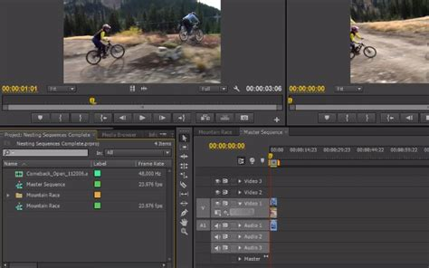 adobe premiere pro nesting 30 video tutorials for learning to use adobe premiere
