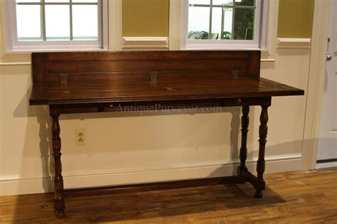 solid walnut console table flip top console table solid walnut country hallway table
