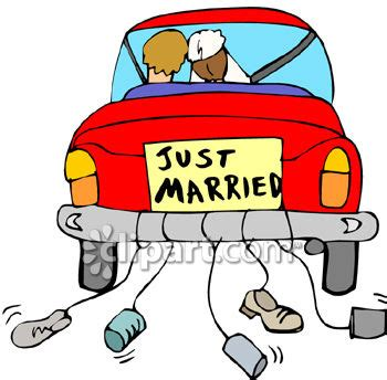 Just Married Auto Clipart Kostenlos by The Bradfordian Bridezilla Just Married