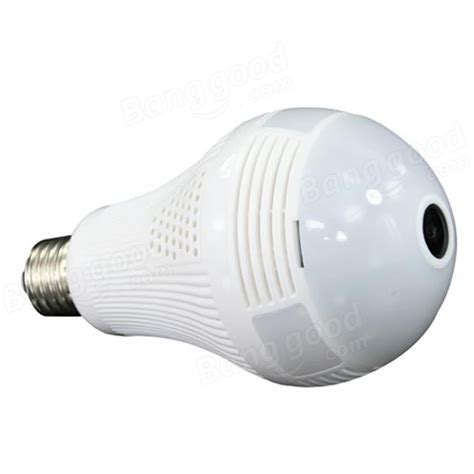 960p 1080p 3mp 5mp wireless panoramic ip 3d vr wifi bulb light fisheye surveillance 360