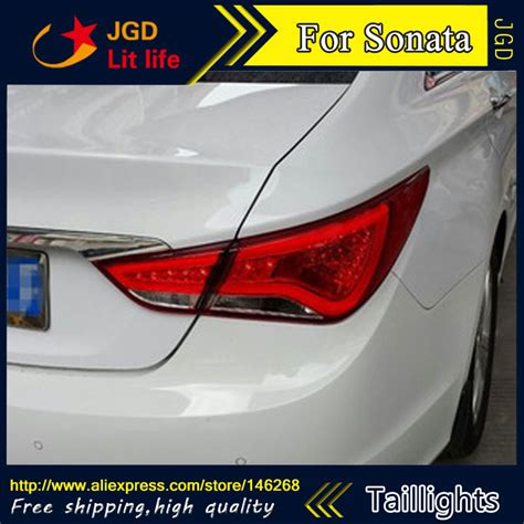 2010 hyundai sonata 3rd brake light replacement car styling tail lights for hyundai sonata 2010 2013 led