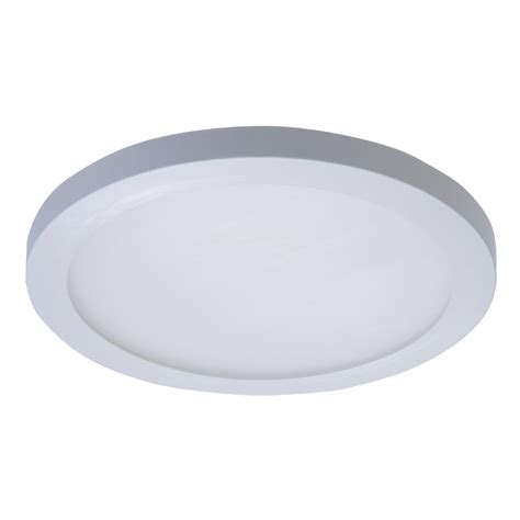 garvin 6 in white recessed can light with blank up