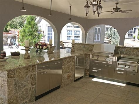 layout of outdoor kitchen kitchen design stone outdoor kitchen design home furniture