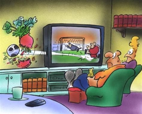 wohnzimmer comic sport on tv by hsb sports toonpool