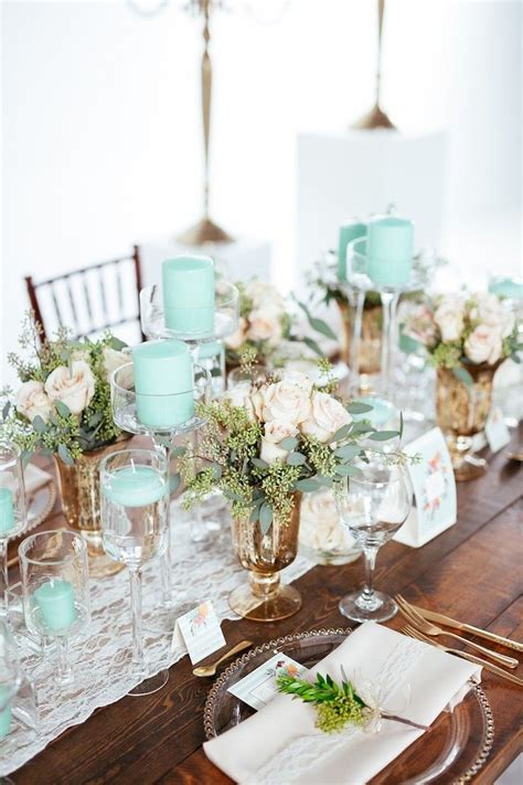 green and decorations best 25 green wedding centerpieces ideas on