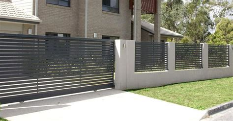 Low Cost Housing Design by Automatic Domestic Sliding Gates Magic Door Industries