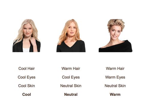 blonde colours for cool skin tones 7 best images of summer skin tone color chart best