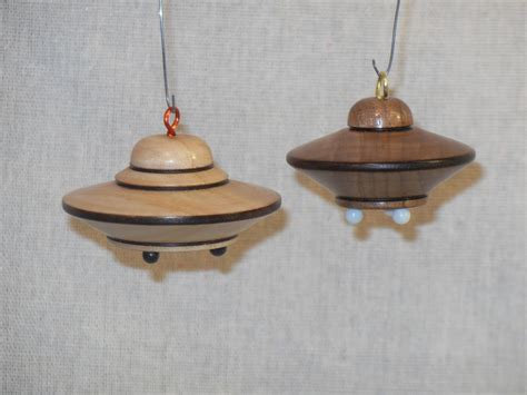 turning a flying saucer christmas tree ornament youtube