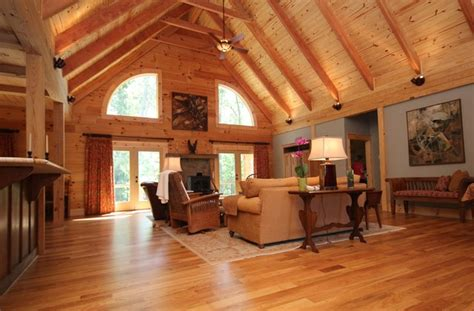 log cabin living rooms montpelier log cabin rustic living room richmond