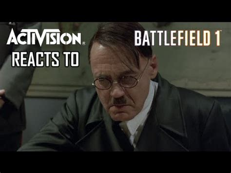 Hitler Reacts Meme - activision reacts to battlefield 1 a hitler reacts parody
