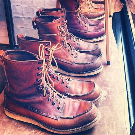 Sepatu Boots Rockers vintage 877 wing setters an upstate of mind vintage wings and