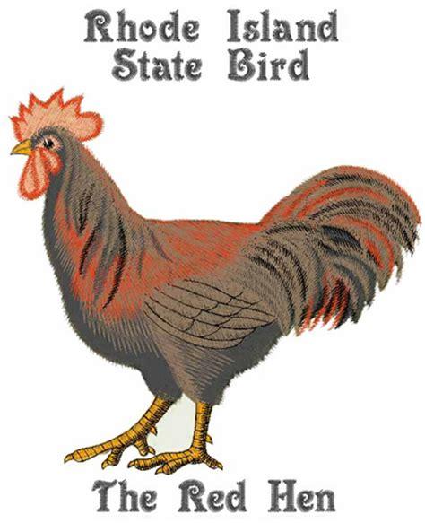 rhode island state bird embroidery design annthegran
