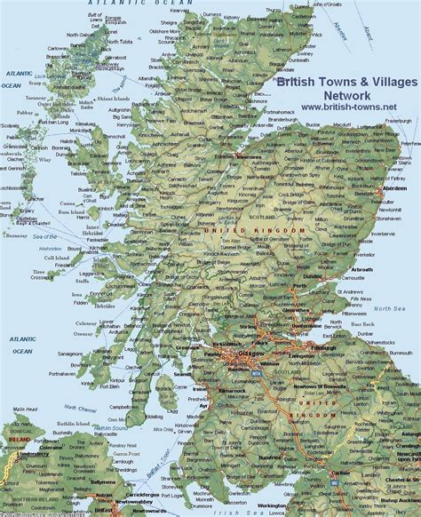 printable road map of scotland map of scotland all things scotland pinterest