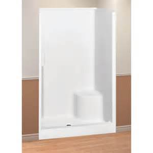 evergreen 48 quot shower unit by maax left seat surplus