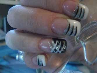 Dessin Ongle by Faux Ongles Avec Dessin