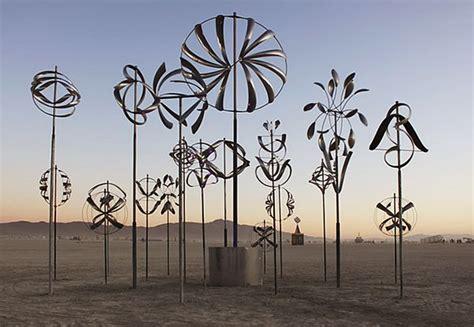 wind art lyman whitaker kinetic sculpture installation 2011