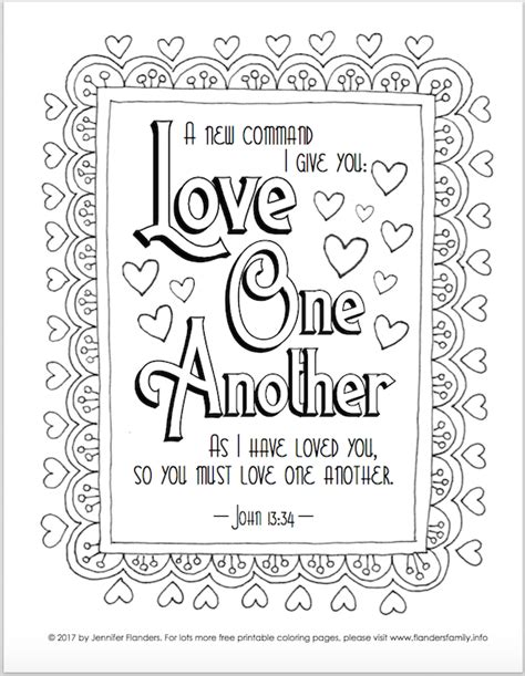 valentine s coloring pages flanders family homelife