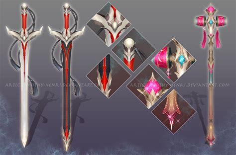 Light Up Swords Custom Sword And Staff For Purishira By Timothy Henri