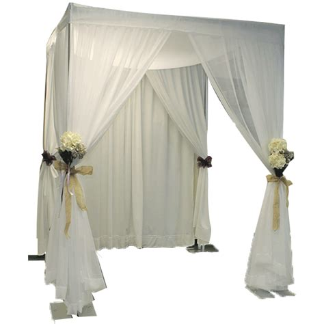 Wedding Canopy Wedding Canopy Specialty Drape Kit Wedding Chuppah