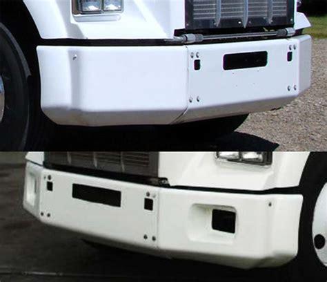 kenworth w900 bumper with lights kenworth bumper trim accesories big rig chrome shop