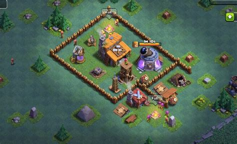 builder boat on clash of clans builder s base layouts attacking tips in clash of clans