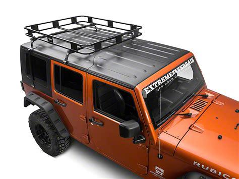 2013 Jeep Wrangler Unlimited Hardtop Storage by Surco Jeep Wrangler Safari Removable Top Rack W