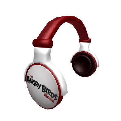 Headset Earphone Headphone Angry Bird An 40 angry birds headphones roblox