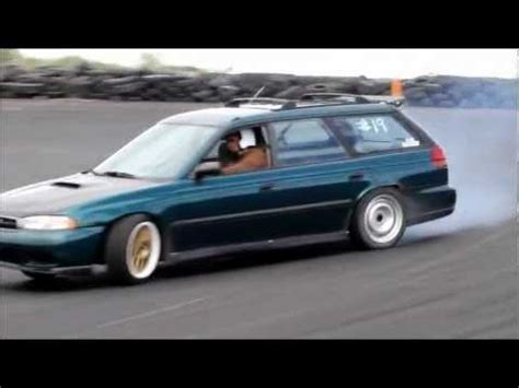 subaru legacy drift rwd subaru drift youtube