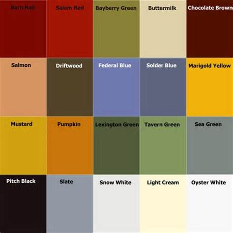 milk paint colors milk paint color chart handy home design