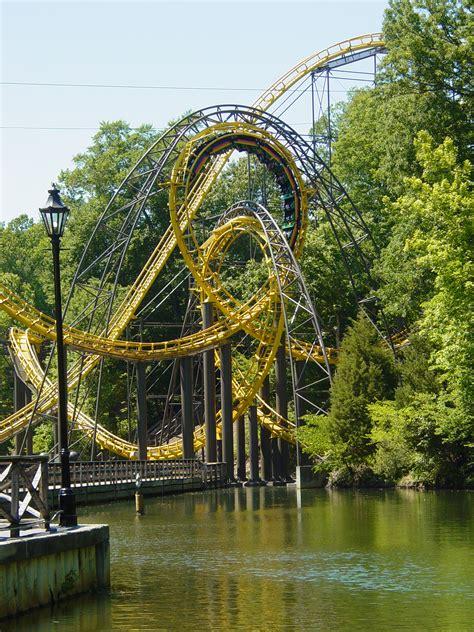 Loch Ness Busch Gardens by Busch Gardens Williamsburg Theme Park In United States