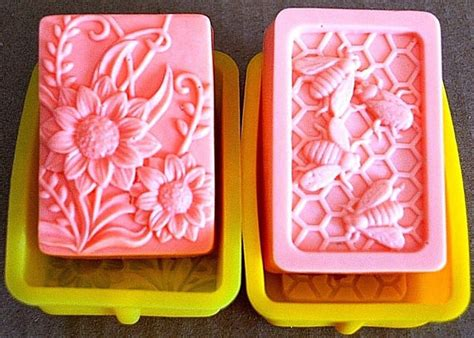 Cetakan Silicone Bee Flower Basket silicone molds silicone flower mold flower soap mold