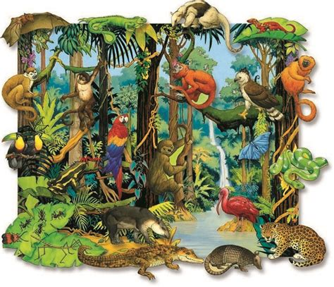 tropical forest animals and plants rainforest background tattoos things i
