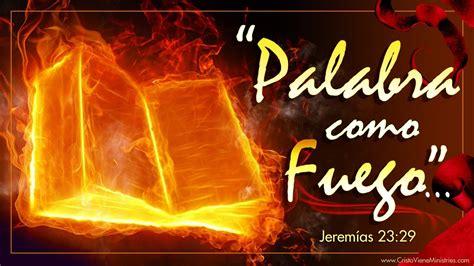 como fuego en el 8408161563 191 no es mi palabra como fuego quot pastor manuel ramirez youtube