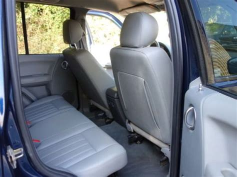 Jeep Liberty Seats Find Used Jeep Liberty Limited 4x4 Crd Diesel Leather