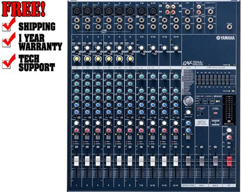 Power Mixer Yamaha Emx5014c dj equipment turntables dj packages speakers mixers dj