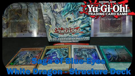 yugioh saga of blue white structure deck yugioh structure deck saga of blue white