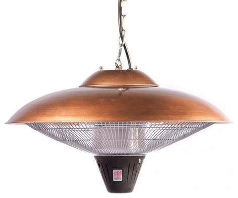 Patio Hanging Lights Hanging Copper Halogen Patio Heater Contemporary Outdoor Hanging Lights Portland By