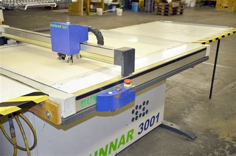 Computerized Mat Cutter by Used Gunnar 3001m Cmc Computerized Mat Cutter Used