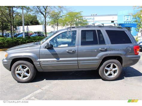 2001 gray jeep grand graphite grey pearl 2001 jeep grand limited 4x4