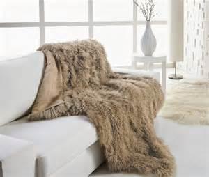 tibetan lambskin throw blanket luxurious curly fur 4