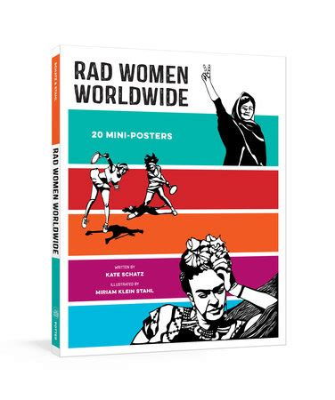 rad worldwide 20 mini posters penguin random