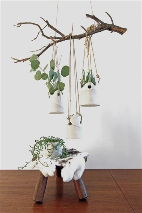 indoor hanging planters contemporary hanging flatware afreakatheart